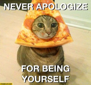 never-apologize-for-being-yourself-cat-pizza-on-head.jpg